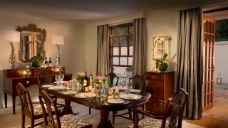 The CellarsHohenort Madiba Villa Dining Room